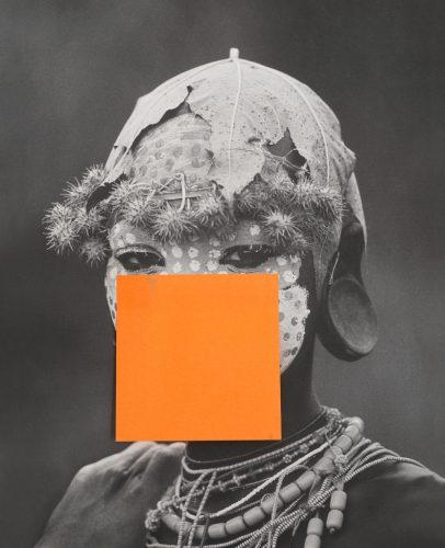 """Foto: Sigrid Viir. """"Hans_55"""". Pigmentrükk alumiiniumil, raam, betoon ja metallkonstruktsioon 135 cm, suhkur, seerias 12 tööd, 2016. Kunstniku ja Temnikova & Kasela galerii loal"""