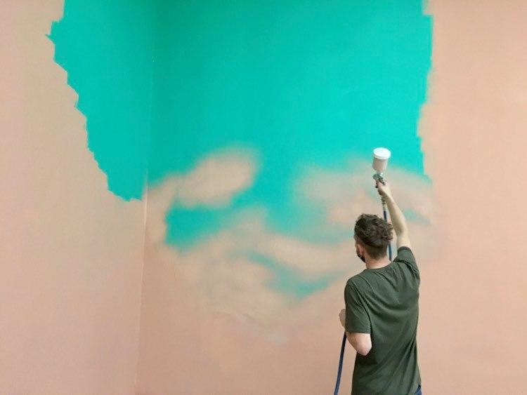 ettevalmistus seina varvimine